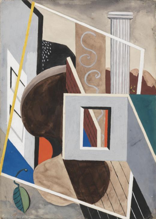 Gouache 1929 by Francis Bacon 1909-1992